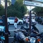 Biarritz traffic jam
