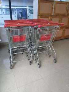Rwandan shopping trolleys