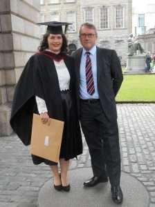 Miriam's graduation