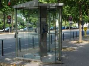 French phone boxes