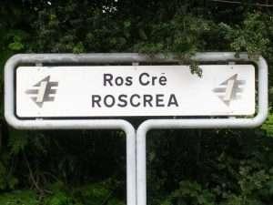 Roscrea sign