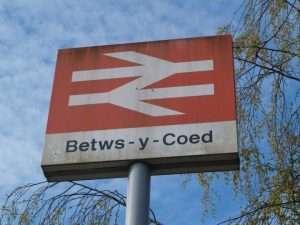 Betws-y-Coed sign