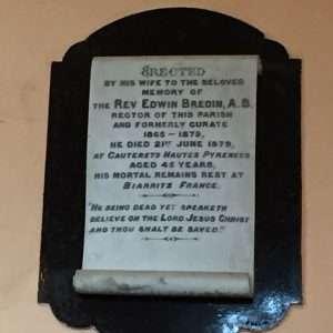 Bredin plaque