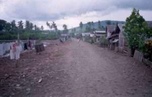 Filipino Fishing village